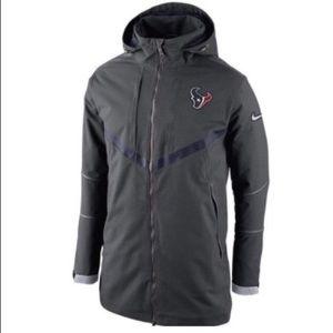 Sale! Nike Storm Fit Houston Texans Parka coat XL